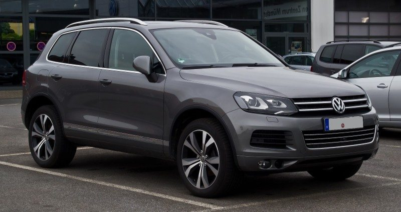 Toureg, one of the affected vehicle in this new wave of the VW emissions scandal