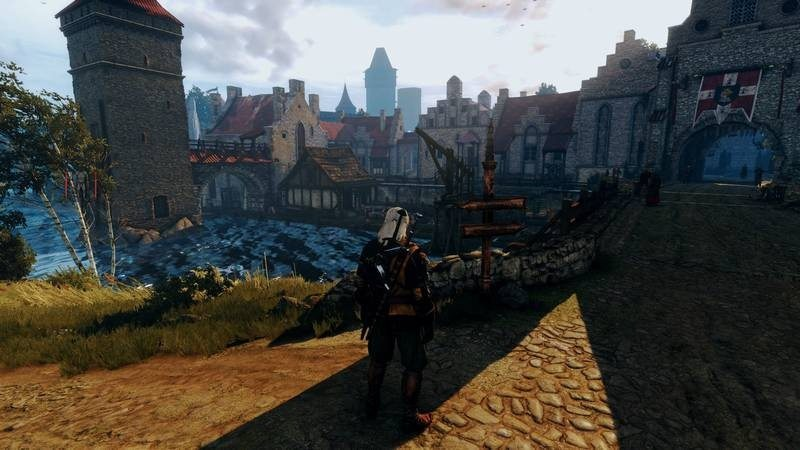 Witcher 3-4 modded