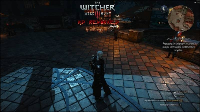 witcher3 mod-hall remake