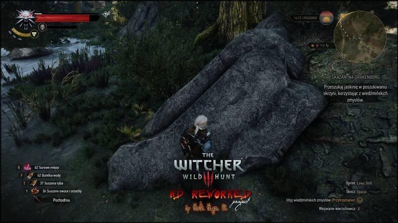 witcher3 mod-rock reworked