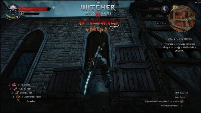 witcher3 mod-wall reworked