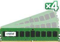 crucial server ddr4 rdimm 2133 8gb kit 4