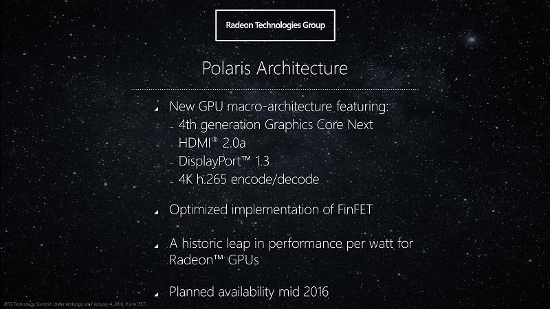 AMD Polaris Release Just Weeks Away!