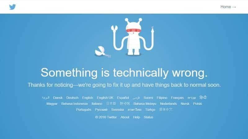 twitter error