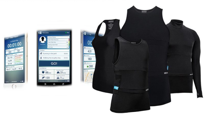 Hexoskin Smart Shirt Monitors Your Health