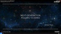 AMD Capsaicin Polaris 10 GPU Radeon Demo