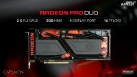 AMD Radeon Pro Duo FuryX2 FijiX2 GPU 2