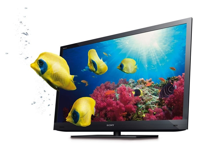 Sony-3D-TV-Fish