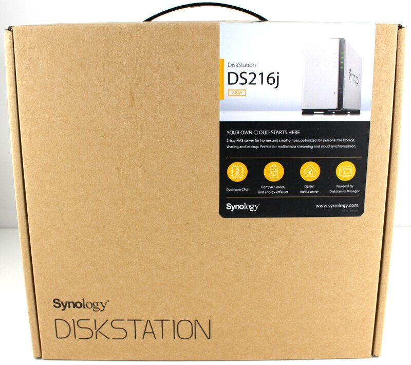 Synology DS216j-Photo-box front