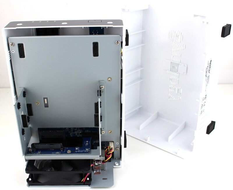 Synology DS216j-Photo-open up
