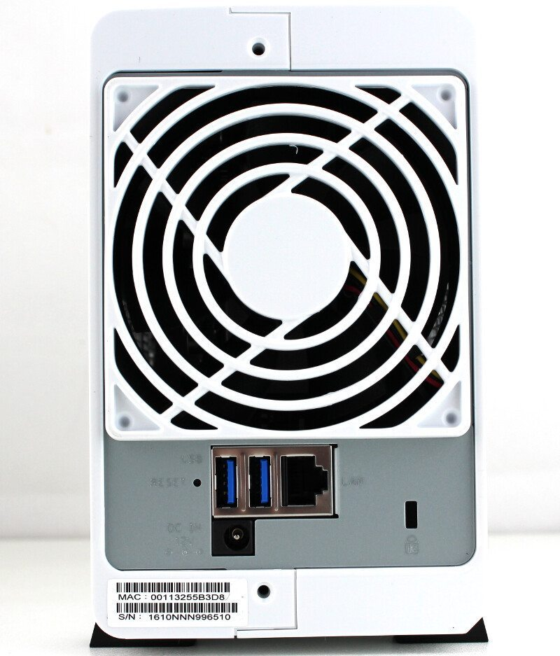 Synology DS216j-Photo-rear