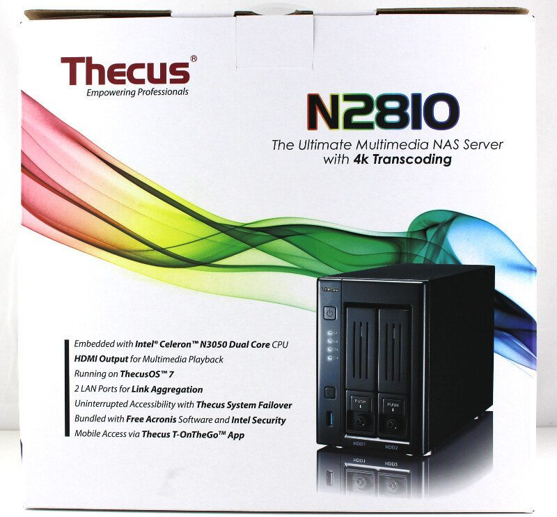 Thecus_N2810-Photo-box rear