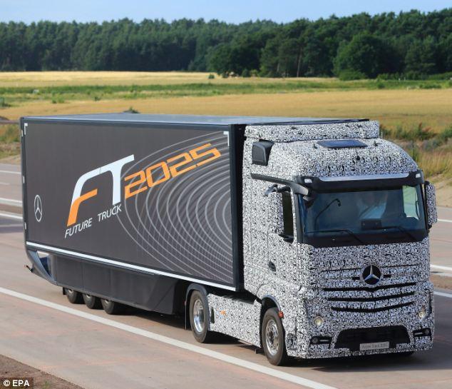 Driverless Lorry