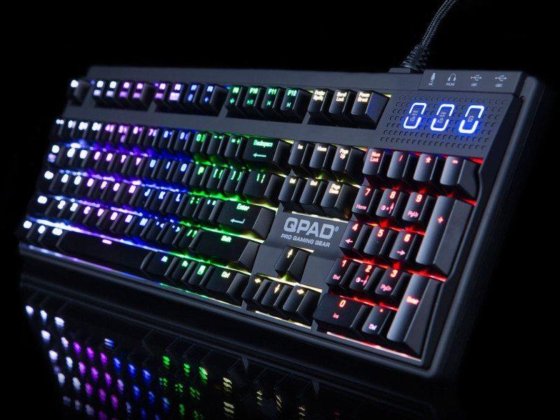 QPAD MK-90 RGB Pro Gaming Mechanical Keyboard Review