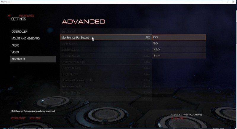 DOOM advanced settings (1)