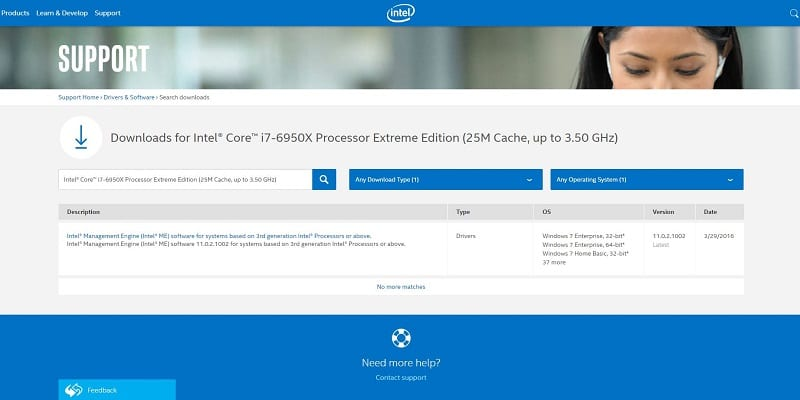 Intel i7 6950X Broadwell-E Extreme Edition 25M Cache, up to 3.5GHz