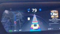 Tesla rainbow road
