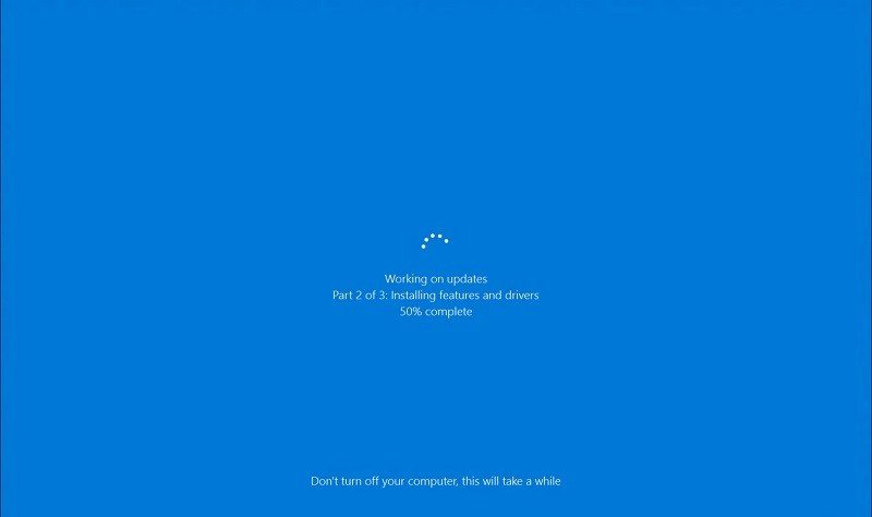 Windows 10 14316 New Update UI