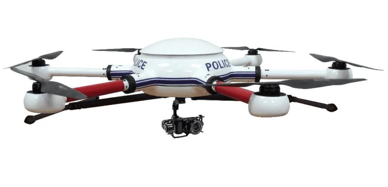 police Hexacopter