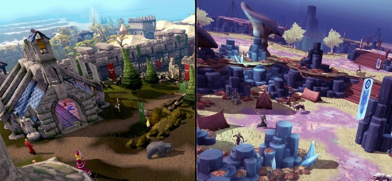 RuneScape Relaunched With New Game Engine