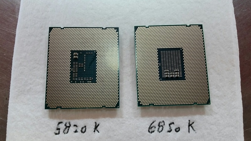 Intel i7 6850K Broadwell E