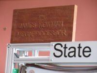 Megaprocessor plaque