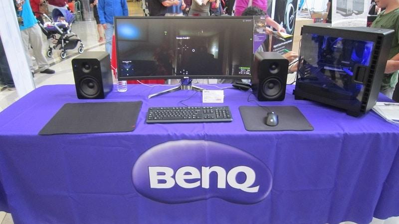 NCIX Tech Fair 2016 BenQ