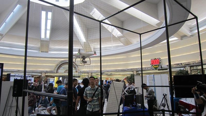 NCIX Tech Fair 2016 Drone in a Cage