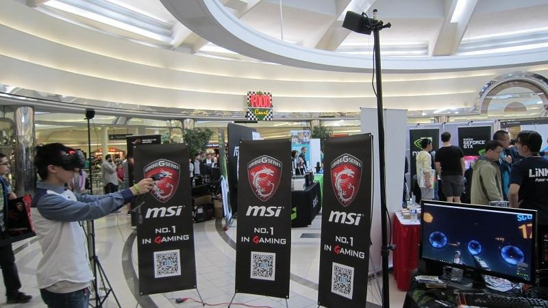 NCIX Tech Fair 2016 HTC Vive 1