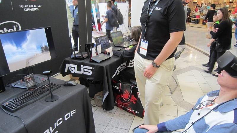 NCIX Tech Fair 2016 Oculus Rift 1