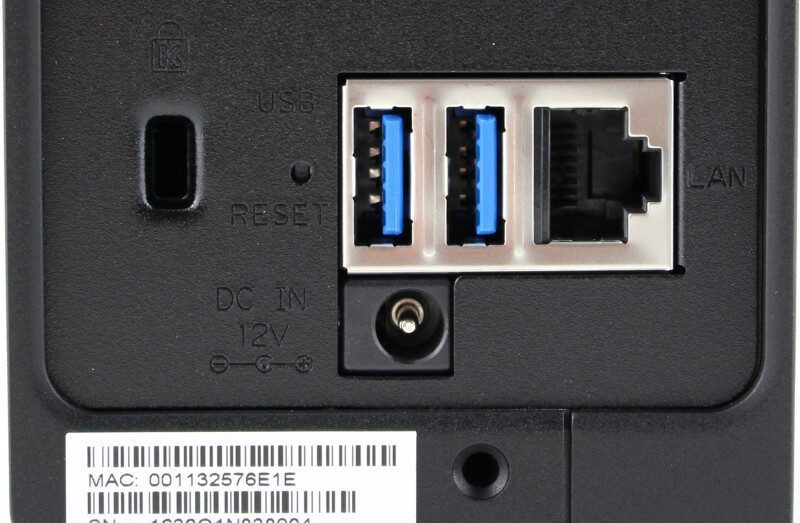 Synology_DS116-Photo-connectors