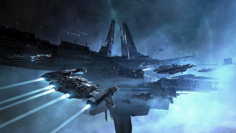 Latest EVE Online Ships Are Like Cities in Space!