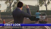 google self driving car gta v