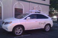 google self driving car test
