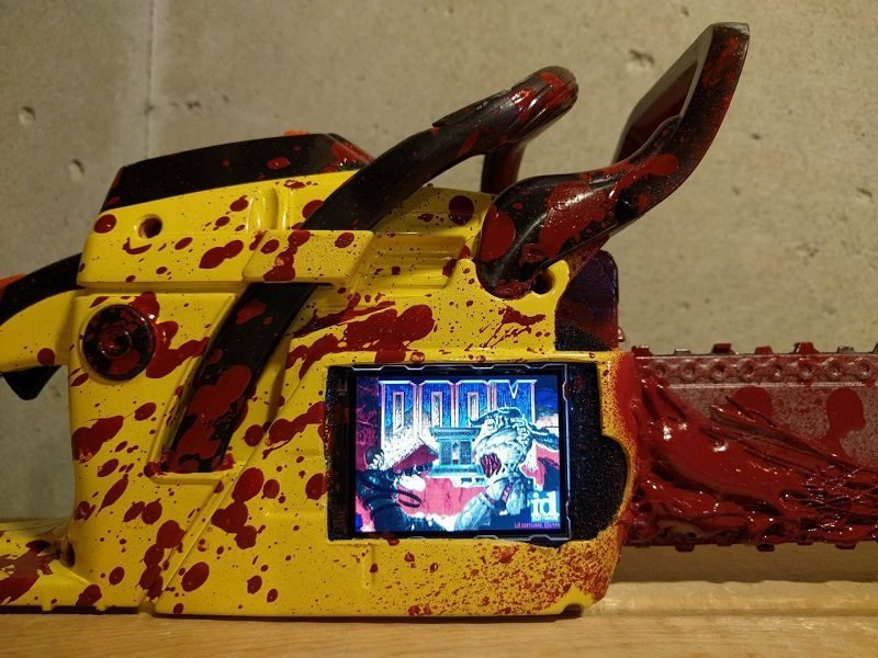 You Can Now Play Doom II on a Rapsberry Pi Painsaw