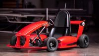 the electric smart go kart