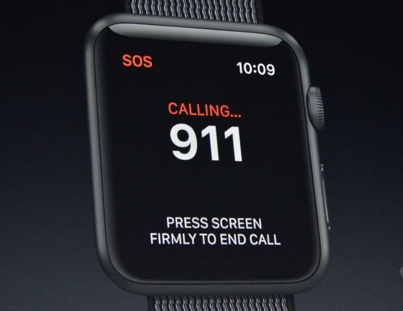 Apples WatchOS 3 To Be Your Emergency Savior