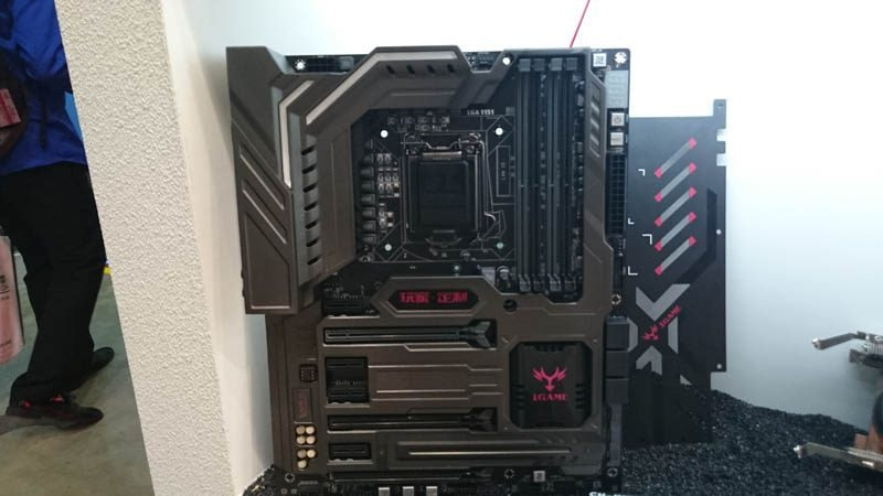 Gorgeous New iGame Motherboards at Computex