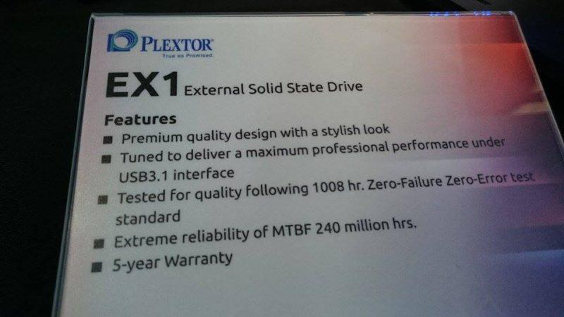 Plextor EX1 3