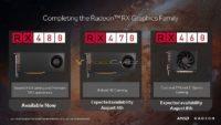 AMD RX 470 RX 460 Polaris GPU