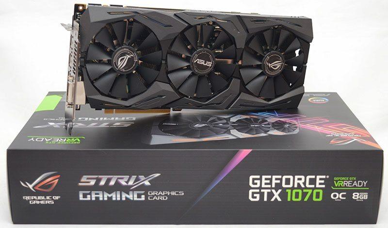 ASUS STRIX GAMING GTX 1070 OC