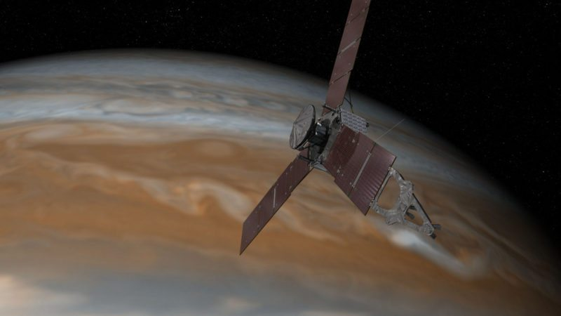Juno is studying Jupiter