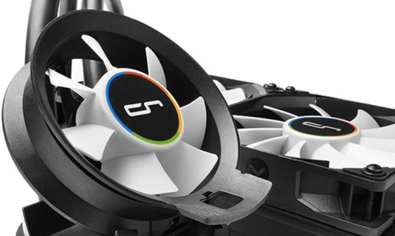 Cryorig A80 280mm Hybrid Air and AIO CPU Cooler Review