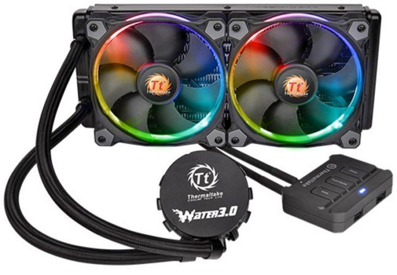 Thermaltake Water 3.0 Riing RGB 240 AIO Cooler Review