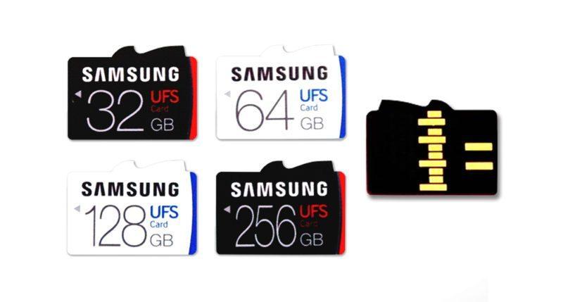 Samsung's UFS Memory Cards are Speedy!