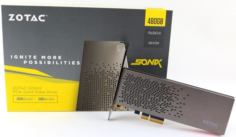 Zotac Sonix 480GB PCIe NVMe Solid State Drive Review