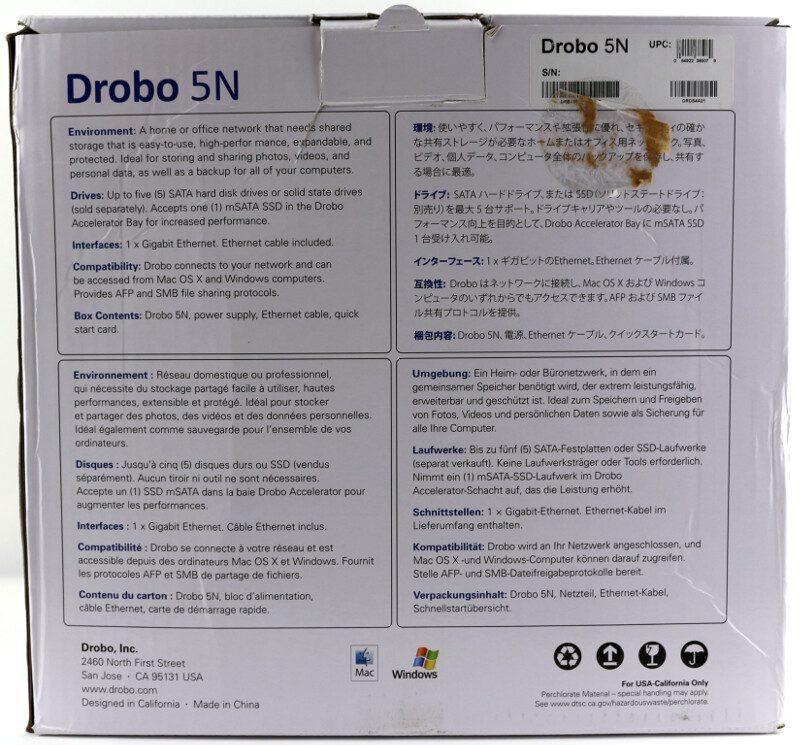 Drobo_5N-Photo-box rear