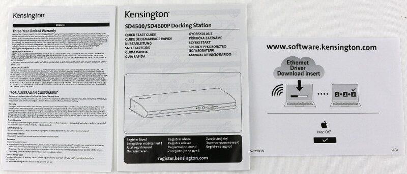 Kensington_SD4600P-Photo-box manuals