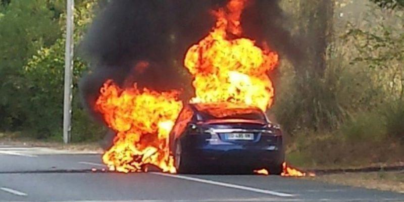 Model S Fire