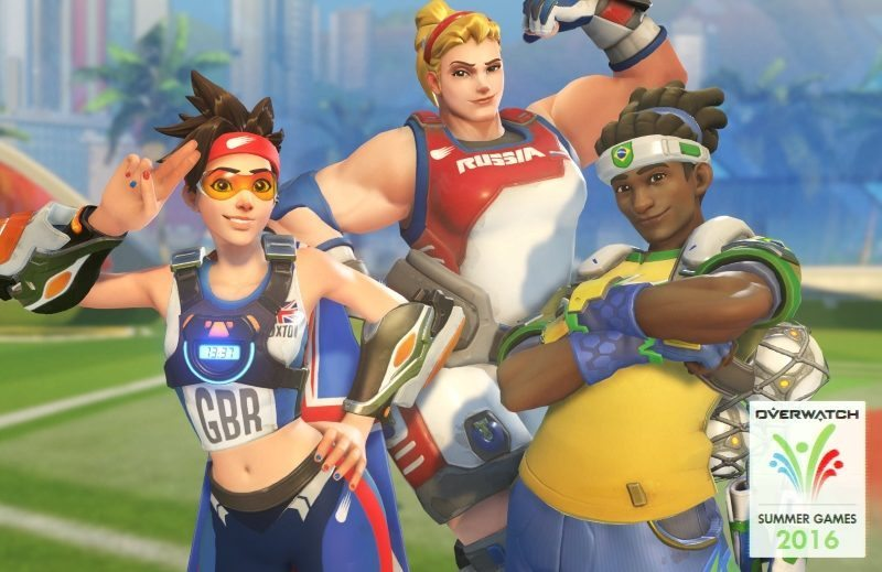Overwatch Adds Olympic-Themed Cosmetics to Limited Time Loot Boxes